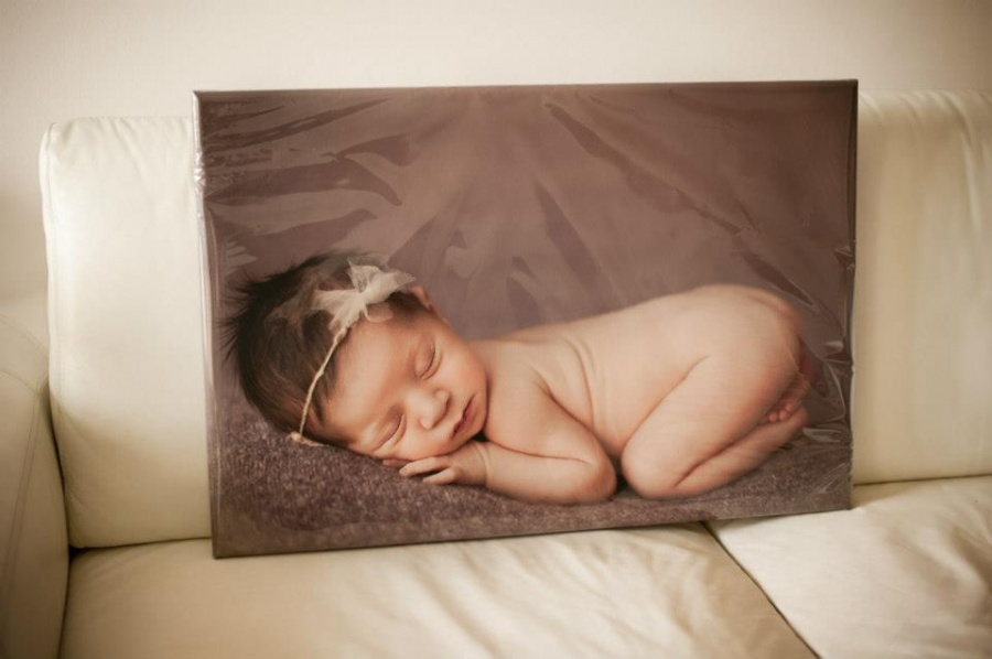 Professionally Printed Canvas Portrait